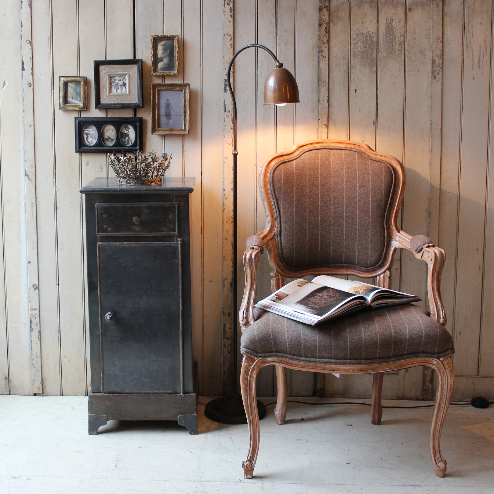 Love vintage furniture but have no idea how to incorporate it into your home?