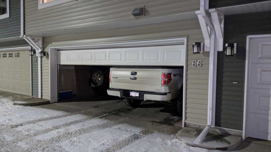 Is a car garage just a shelter to park the car?